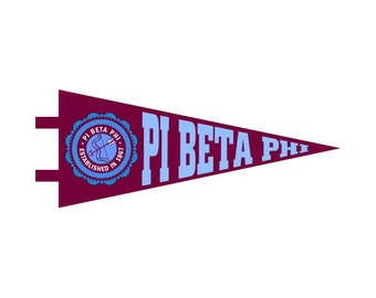 Pi Beta Phi Pennant Decal