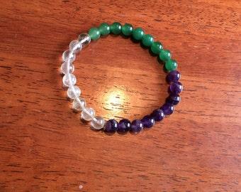 Prosperity & Luck Healing Crystal Bracelet
