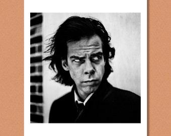 NICK CAVE - Portrait, London 1996 - The Bad Seeds, Birthday Party -- Giclée/Photo print
