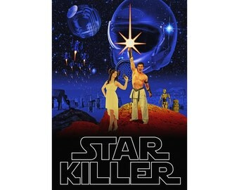 Star Wars Parody Film Poster Starring YOU!