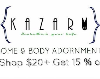 KAZARU Holiday Discount