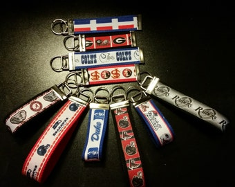 Sport Team Keychain - Key Fob (College, NCAA, NFL)