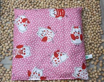 Cherrystone pillow Owl
