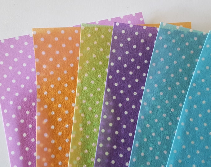 Edible Pattern Sheet, Polka Dots - Wafer Paper or Frosting Sheet