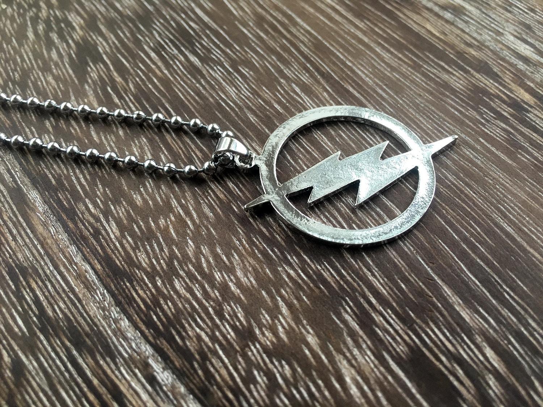 35 flash necklace dc comics the flash necklace