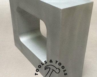 ALUMINIUM MOULE CADRE unitaire cavité vulcanisateur caoutchouc taille 8.6cmx