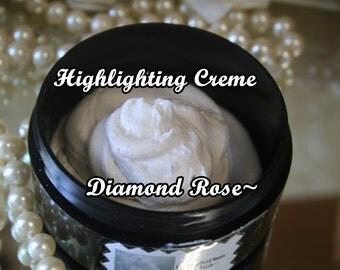 Highlighting Creme Diamond Rose Sheer Blush~Aloe Vera & Shea Butter Based To Pamper Your Skin~