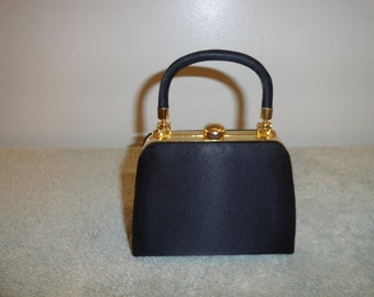Hasting and Smith Small Little Black Purse