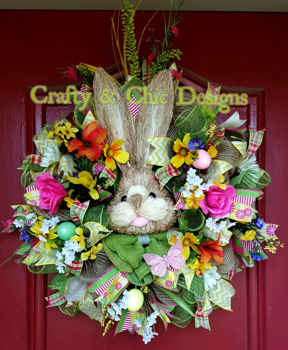 Easter Bunny Deco Mesh Wreaths Page Three Easter Wikii