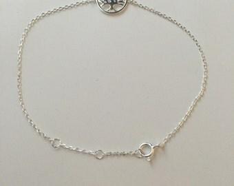 Tree of life bracelet,925 sterling silver tree of life bracelet