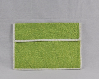 Green Laptop Case