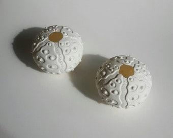 porcelain urchin tealight holder