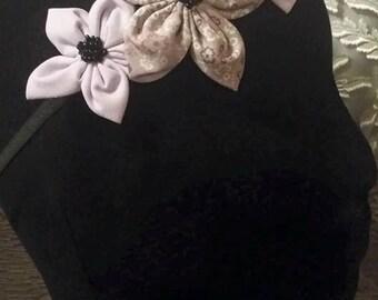 Hand beaded floral headband