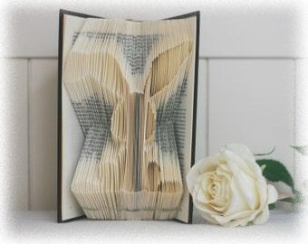 Book Folding Pattern Bunny + FREE Tutorial