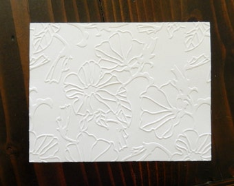 Passion Embossed Cardstock, Embossed Sheets, Embossed Card Fronts