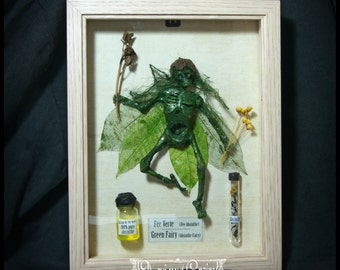 Fee verte absinthe mummified dead framework dead mommified green fairy Mummy mummy skeleton