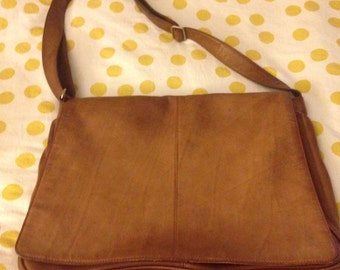 Osgoode Marley Messenger Bag (Leather in Brandy)