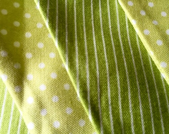 Lime Twist Quality Cotton Bunting.