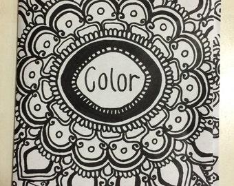 Coloring book handmade