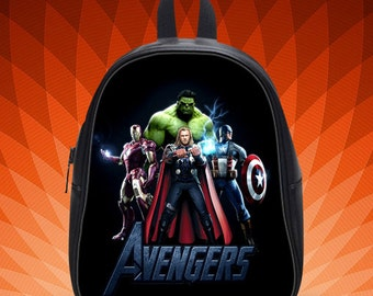 Avengers Thor Hulk Ironman Captain America Design School Bags Favorite for Your Kids