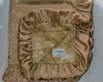 ON SALE - Satin collection Baby/toddler/teen blankets, Minky/Satin, Handmade.