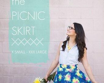 The Picnic Skirt - Sew Caroline Sewing Patterns - paper pattern