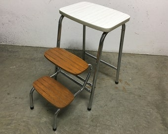 Step stool formica 70s