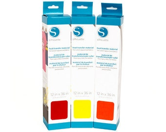 All Colors Smooth - Silhouette Heat Transfer Material