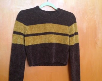 90s crop sweater
