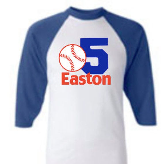 Custom personalized baseball vinyl graphic raglan tee baseball for Custom baseball shirts no minimum