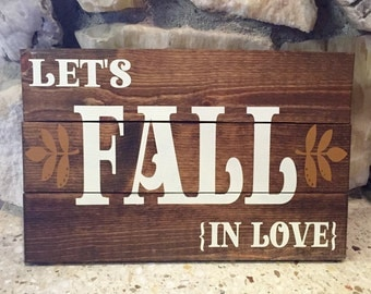 Let's Fall In Love Pallet
