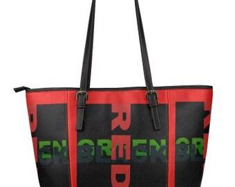 Sandra Burchette Signature Leather Large RBG Tote Bag