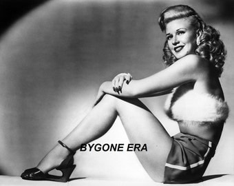 Ginger Rogers Pinup Girl Poster Art Photo Artwork 11x14 or 16x20