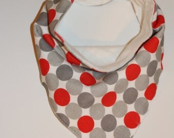 Polka Dotty Dribble Bib