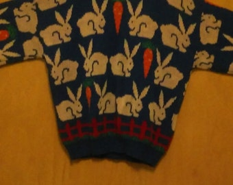 CLEARANCE was 35 now 20. 80s Bunny Sweater