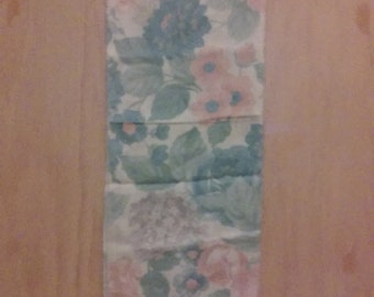 CLEARANCE was 27 now 17. 80s/90s NWT Italian Flower Pattern Scarf