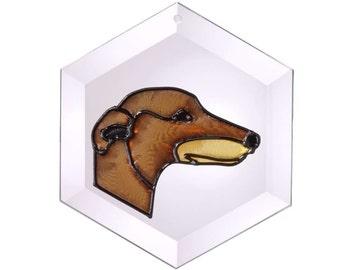 Greyhound 1 Suncatcher