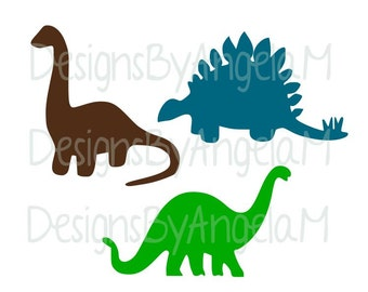 Dinosaurs Dino  SVG Digital cutting file  Instant Download - Use on your cutting machine  SVG File