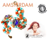 Amsterdam bracelet - instant dowload for the pdf instructions for a top-notch beadwork project!