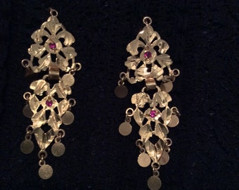 Stunning 22ct Indian Gold Earrings