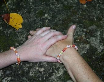 Star Burst Homemade Bead Bracelet