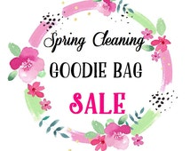 Goodie Bag - SALE - Spring Cleaning Adhesive Vinyl Pack, Heat Transfer Vinyl Pack, HTV & Adhesive Vinyl Mixed Pack