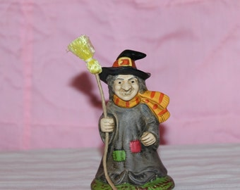 Vintage Lefton Witch 1989