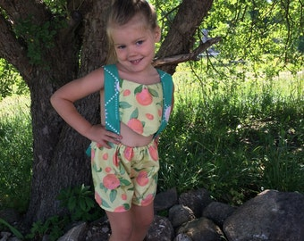 Sun suit that will grow with your child 2T - 5T