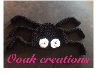 Halloween spider hat for babie