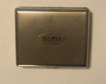 Vintage Bulova Cigarette Case