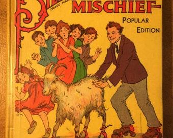 Billy Whiskers in Mischief - Hardback, 1930's