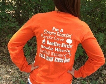 Fall shirt, Fall Lovin' Kinda Girl shirt, Womens clothing, It's Fall Yall shirt, Womens fall shirt