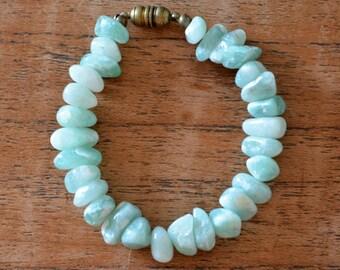 Bracelet blue Aventurine