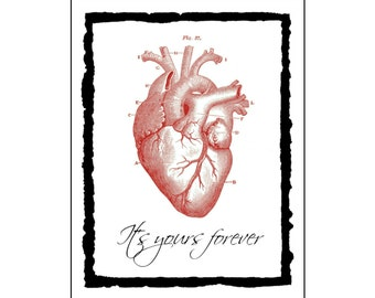 Valentine card - Yours Forever